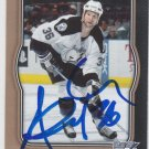 Andre Roy Signed Lightning Card Penguins - Senators