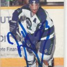 Brad Larsen Signed Classic Draft Card Avalanche - Blue Jackets