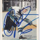 Sandis Ozolinsh Signed Sharks Card Riga - Rangers