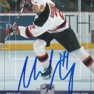 Sheldon Souray Signed Heroes Devils Card Ducks