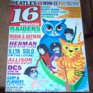 16 Magazine 1966 The Beatles Byrds Bobby Fuller Brian Jones Raiders Batman