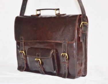 Handmade Vintage Messenger Bag Cross Body Satchel Sling Laptop Bag Camera Bag