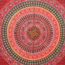 Mandala Peacock Tapestry Hippie Cotton Wall Hanging Bohemian Throw Dorm Decor