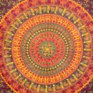Mandala Tapestry Bohemian Cotton Wall hanging Hippie Bedspread Wall Art Throw