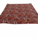 Handmade Queen Size Kantha Quilt Reversible Indian Sari Throw Bedspread Ralli