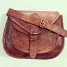 Real Leather Genuine Handmade Bag Ladies Shoulder Cross Body Satchel Sling Bag