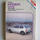 Honda Civic 1973-1983 Shop Manual Clymer Repair