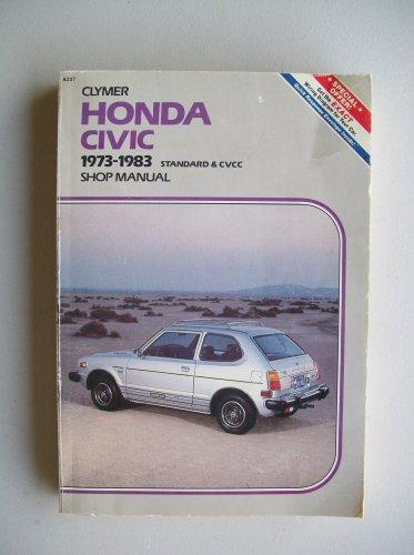 Clymer Honda Civic 1973-1983 Shop Manual Repair