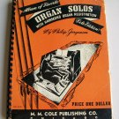 Vintage 1940 Album Of Favorite Organ Solos