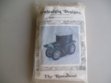 Newstalgia Designs Car Runabout Needlecraft Kit