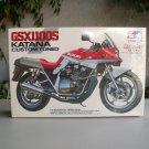 Tamiya GSX1100S Katana Custom Tuned Motorcycle Model Kit 1/12 New Vintage