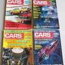 Vintage Cars Magazine Lot Of 4 1974 1975