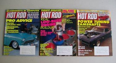 Vintage Hot Rod Magazine Lot Engine Building Power Tuning Drags Baja Harley