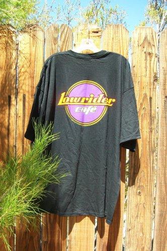 Lowrider Cafe T Shirt Black 3XL Short Sleeve Low Rider Harley Cruiser