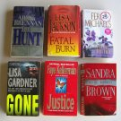 Mystery Thriller Suspense Book Lot Brennan Jackson Michaels Gardner Brown Kellerman