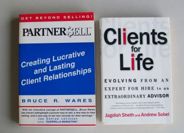Sales Real Estate Business Book Lot Clients For Life Partner Sell Advisor Client Relationships