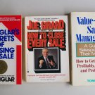 Business Management Books Lot Secrets Techniques Sales Salespeople Managers