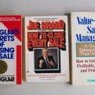 Business Management Books Lot Secrets Techniques Sales Salespeople Managers