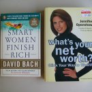 Smart Women Finish Rich And What's Your Net Worth Financial Wealth Book Lot