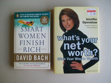 Smart Women Finish Rich And What�s Your Net Worth Financial Wealth Book Lot