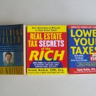 Business Real Estate Book Lot Tax Secrets Building Wealth Financial Investing