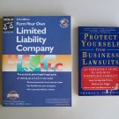 Financial Business Book Lot B18 Form Your Own LLC Protect Yourself From Lawsuits Legal