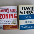 Business Real Estate Book Lot R18 Guide To Zoning New Home Marketing Construction Sales