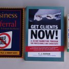 Business Success Book Lot B34 Referrals Clients Promote Yourself Marketing Sales