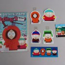 South Park Decals & Magazine Lot Vintage Rolling Stone Cartman Kenny Kyle Stan Southpark Stickers
