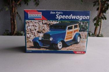 Dan Fink�s Speedwagon Model Woody Wagon Monogram 1/25 Vintage