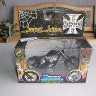 Jesse James El Diablo Rigid Vintage Muscle Machines 1/18 West Coast Choppers Bike