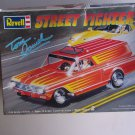 Tom Daniel Street Fighter Model Kit Chevy Sedan Delivery Wagon Revell 1/24 Vintage