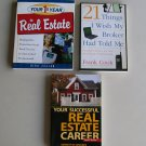 Real Estate Business Book Lot R1 Your 1st Year Success Advice Professionals Broker