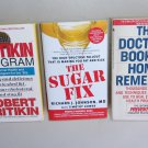 Self Help Health Diet Lot SH3 Pritikin Program Home Remedies Sugar Fix Prevention
