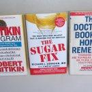 Self Help Health Diet Lot SH3 Pritikin Program Home Remedies Sugar Fix Prevention