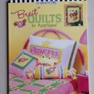 Mary Engelbreit Breit Quilts To Applique Book  23 Projects Patterns How To
