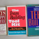 Business Book Lot B8 Team Building Toolkit Motivation Tips Happy Employee