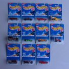 Vintage Hot Wheels 1996 First Editions Series Lot Of 11 Train Wagon Pickup Truck Mustang