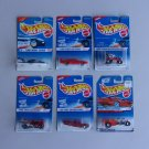 Vintage Hot Wheels 1995 1996 1997 Series Lot Of 6 First Editions Radio Flyer Wagon Hot Rod Plane