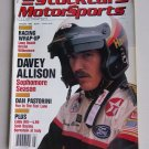 Vintage Stock Car And Motorsports Magazine 1988 Davey Allison Nascar Racing