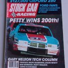 Stock Car Racing Magazine Petty Vintage 1984 Nascar Racing Ford Pontiac