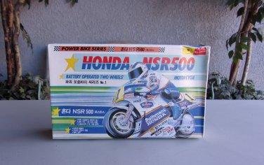 Honda NSR500 Rothmans Motorcycle Battery Operated Model Kit Vintage Rare