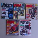 Motorcycle Magazine Lot Cycle World Sport Rider Motor Cyclist  Vintage