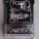 Foose Grandmaster Full Throttle Diecast Car Foose Design Series Hardcore Horsepower Gray