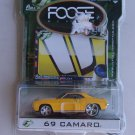 Foose 69 Camaro Full Throttle Diecast Car Foose Design Series Hardcore Horsepower Yellow