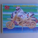 Cross Country Motorcycle Wood Model Kit CX 501 Bike
