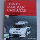 How To Make Your Car Handle Book Handling Performance Highway Road Drag Oval Track Puhn