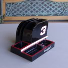 Dale Earnhardt Sr 3 Desk Organizer Nascar Racing Red Black Office
