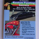 Kustom Painting Secrets Book Jon Kosmoski Tricks Techniques Flames Kandies Pearls Clearcoat