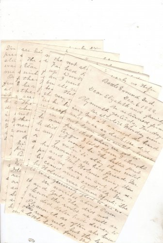 """""""Painless Death"""" Letter (7 pages)"""